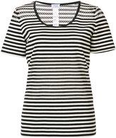 Akris Punto striped T-shirt - women - Cotton/Spandex/Elastane - 4