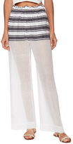 Lemlem Abara Gauze Striped Wide Leg Pant