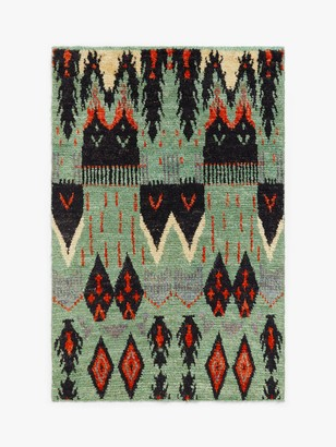 Gooch Luxury Hand Knotted Aztec Berber Style Rug, L180 x W120 cm