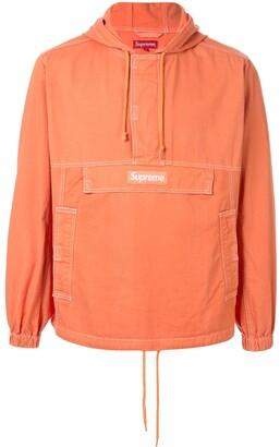 Supreme Contrast Stitch Pullover Jacket