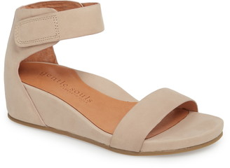 Gentle Souls by Kenneth Cole Gentle Souls Signature Gianna Wedge Sandal