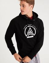 American Eagle Outfitters AE Fleece Throwback Cotton Sweatshirt