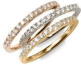Diamond Collection Thin Stackable Ring