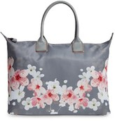 Ted Baker Oceana Large Oriental Blossom Tote - Grey