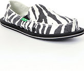 Sanuk I'm Game Zebra-Print Slip-On Shoes