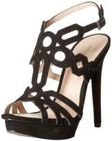 Pelle Moda Women's Faine Dress Sandal Black 5.5 M US