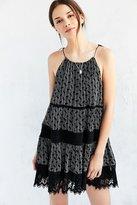 Kimchi & Blue Kimchi Blue La Palma Crochet Inset Mini Dress
