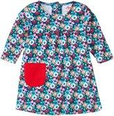Zutano Little Pocket Dress (Baby) - Edelweiss - 12 Months