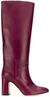 Stuart Weitzman heeled mid-calf boots