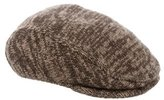 Dolce & Gabbana Rib Knit Newsboy Cap