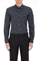 Paul Smith Men's Abstract Paisley Poplin Shirt