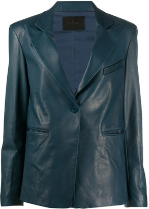 Drome Single-Breasted Fitted Blazer