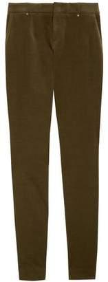 Gucci Cotton-blend Velvet Skinny Pants