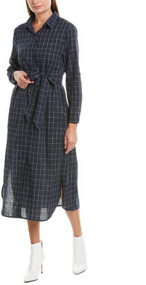 Rosewater Remi Tie-Waist Shirtdress