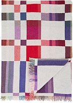 Barneys New York Patchwork Cashmere Throw