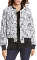 Karen Kane Lace Bomber Jacket