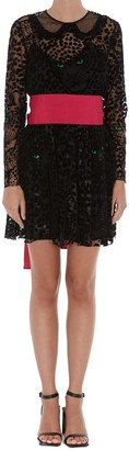 RED Valentino Leo Panther Dress