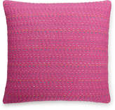 "bluebellgray Lomond Pink Esme Kantha 16"" Square Decorative Pillow Bedding"
