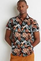 Forever 21 Tropical Print Shirt