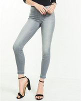 Express Mid Rise Pull-on Released Hem Jean Leggings