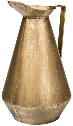 Mercana Home Offred II Decorative Object, Large, Antiqued Brass