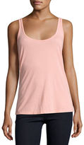 Johnny Was Scoop-Neck Cotton/Modal Tank, Plus Size