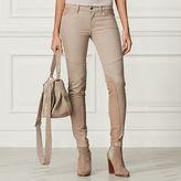 Ralph Lauren 400 Leather-Trim Jean