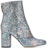 M Missoni glitter ankle boots - women - Calf Leather/Leather/PVC - 37