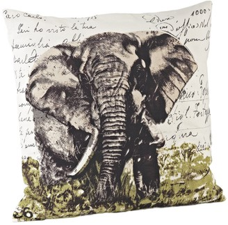 Saro Lifestyle Elephant Design 18-inch Down Fill Throw Pillow