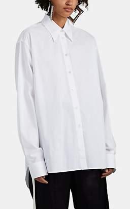 MM6 MAISON MARGIELA Women's Cotton Poplin Blouse - White