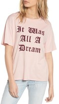 Daydreamer Women's It Was All A Dream Graphic Tee