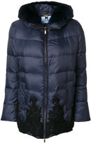 Blumarine embroidered padded jacket
