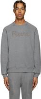Pierre Balmain Grey Logo Sweatshirt