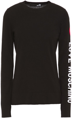 Love Moschino Jacquard-knit Sweater