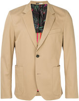 Paul Smith patch pocket stretch blazer - men - Cotton/Spandex/Elastane/Viscose - 40