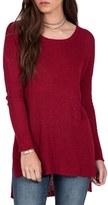 Volcom Women's Knit High/low Sweater
