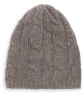 Portolano Cable-Knit Solid Beanie