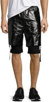 Helmut Lang Double-Layer Shorts, Black
