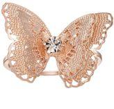 Lauren Conrad Filigree Butterfly Ring