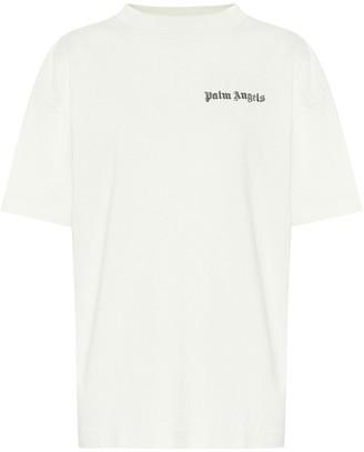 Palm Angels Logo cotton T-shirt