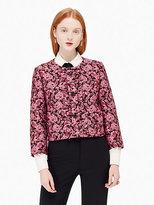 Kate Spade Rose textured jacket
