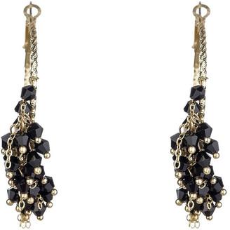 Johara Beaded Hoop Earrings