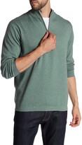 Peter Millar Salisbury Quarter Zip Mock Neck Sweater