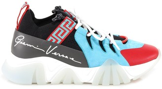 Versace Squalo Chunky Sole Sneakers