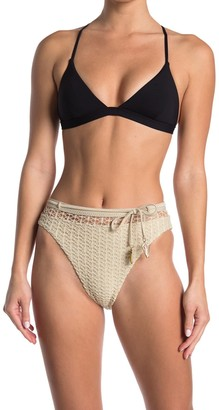 Isabella Rose Milan Crochet High Waist Bikini Bottoms