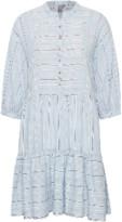 Culture Blue Cuamine Striped Dress - XS