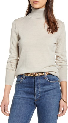 1901 Turtleneck Merino Wool Blend Sweater