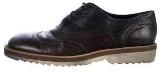 Dolce & Gabbana Leather Wingtip Spectators