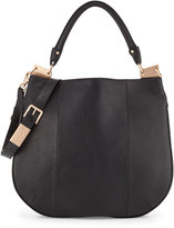 Foley + Corinna Dione Leather Hobo Bag, Black