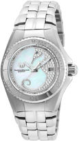 Technomarine TECHNO MARINE Techno Marine Womens Silver Tone Bracelet Watch-Tm-115286